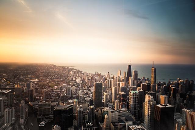 Chicago večer