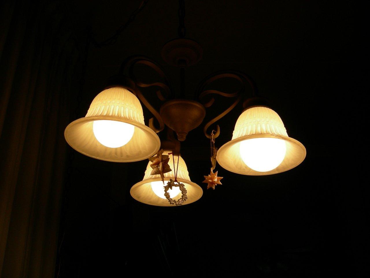 osvetlenie, luster